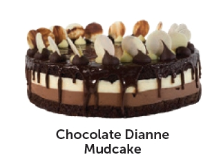 Chocolate Dianne Mudcake