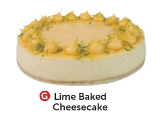 Lime Baked Cheesecake