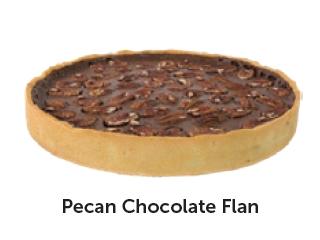 Pecan Chocolate Caramel Flan