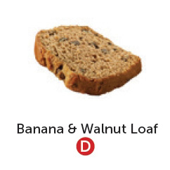 Dairy free banana and walnut loaf