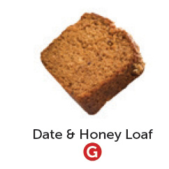 Gluten free date and honey loaf